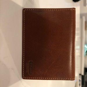 Coach genuine leather card holder